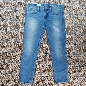 GAP JEANS SKINNY CROPPED